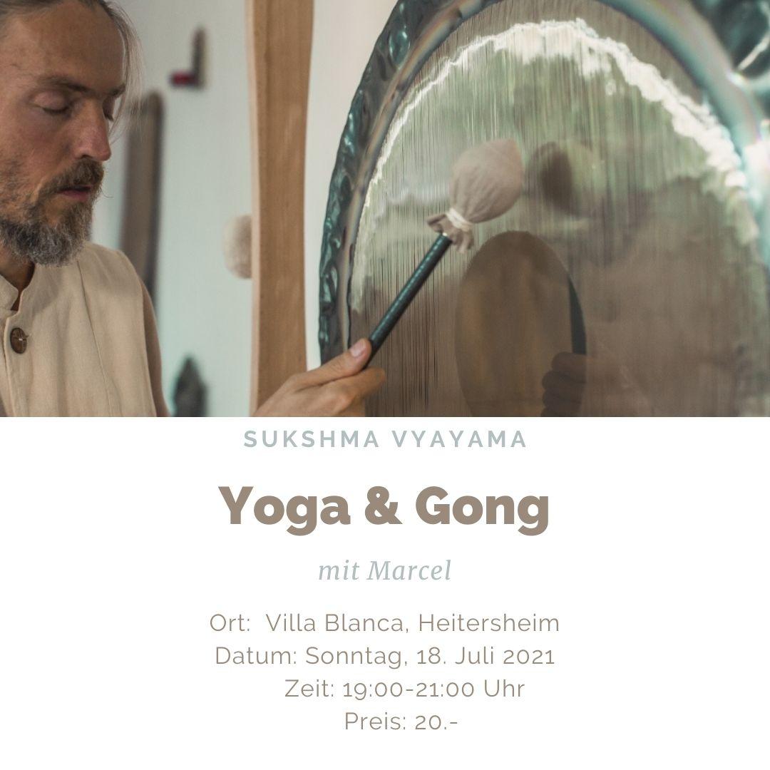 Yoga und Gong in Heitersheim