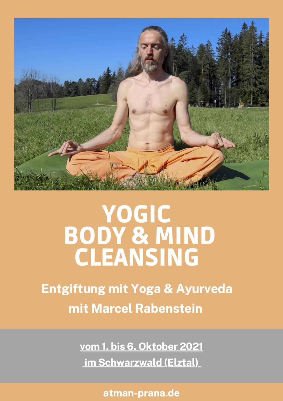 Yoga Retreat und Entgiftung im Schwarzwald 1. - 6.10.2021